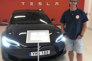 3-C är nu stolt ägare av Tesla Model S